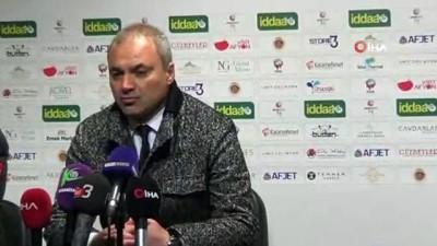 Erkan Sözeri: 'Maçın zor olacağını biliyorduk'