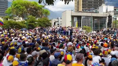 hukumet karsiti - Guaido halkı yeniden sokağa çağırdı - CARACAS
