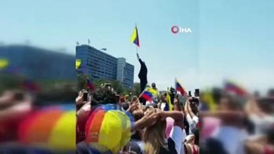 bassavci -  -  Guaido, Venezuela'ya Döndü