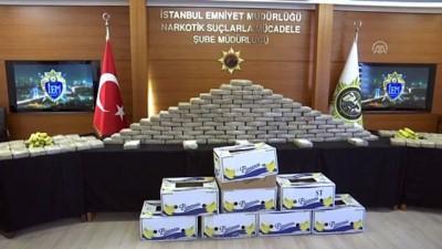 Muz konteynerinde 185 kilogram kokain ele geçirildi - İSTANBUL