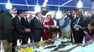 - Cumhurbaşkanı Yardımcısı Fuat Oktay'tan esnaf ziyareti