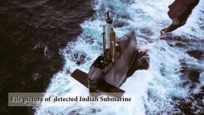 Hint denizaltısı Pakistan donanması tarafından engellendi - İSLAMABAD