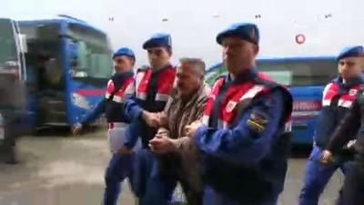 Karaman'daki arazi cinayeti zanlısı adliyeye sevk edildi