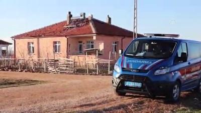 Koyun otlatma cinayeti - Şüphelinin evinin etrafında güvenlik önlemi sürüyor - KARAMAN