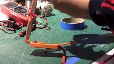 uc boyutlu yazici - Liselilerden görme engelliler için 'titreşimli gözlük' - İZMİR