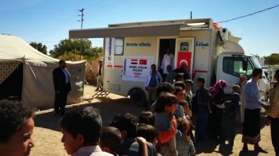 Sadakataşı Derneği'nden Yemen'e 'Mobil Klinik' - YEMEN