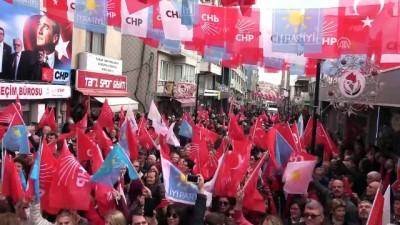 CHP Grup Başkanvekili Özgür Özel, Kırklareli'nde