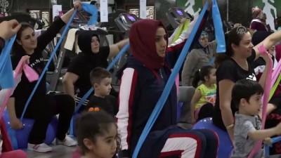'Çocuklar okula, anneler spora' - BİLECİK