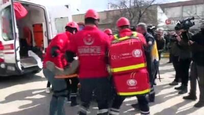 Elazığ'da gerçeği aratmayan deprem ve yangın tatbikatı