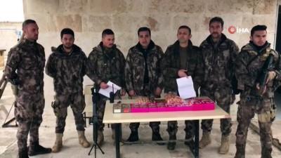 Öğrenciler Afrin'de ki polis kardeşlerine gıda kolisi hazırladılar