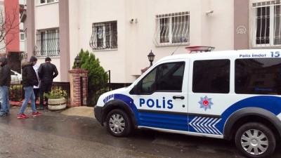 olay yeri inceleme - Ümraniye'de cinayet - İSTANBUL