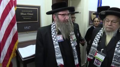 ABD'de Siyonizm karşıtı Yahudilerden Ilhan Omar'a destek ziyareti