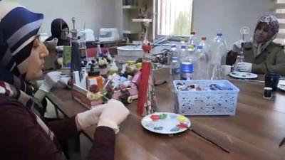 Atık malzemeler kadınların ellerinde sanata dönüşüyor - ŞANLIURFA