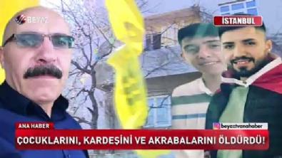 İstanbul'da katliam 5 ölü
