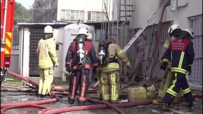 Kağıt fabrikasında yangın - İSTANBUL