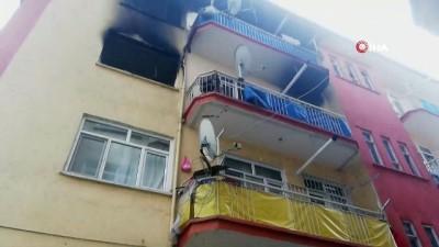 en yasli kadin -  Malatya'da doğal gaz patlaması: 1 ölü, 3 yaralı