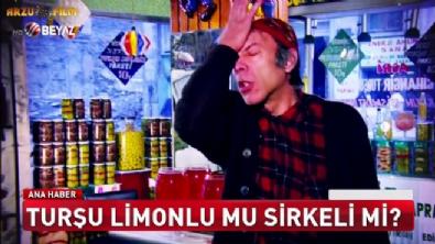 Turşu sirkeli limonlu mu