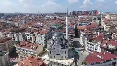Gaziosmanpaşa'da yapımı tamamlanan Çilekli Camii ibadete açıldı