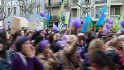 - İspanya'da 8 Mart coşkusu