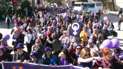 Kadınlardan, Kadınlar Günü'ne özel yürüyüş