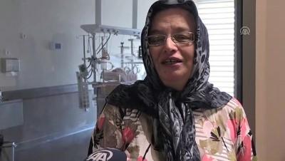 Minik Melek Naz Kayseri'de sağlığına kavuştu - KAYSERİ
