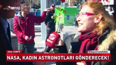 Uzayda kadın yürüyüşü