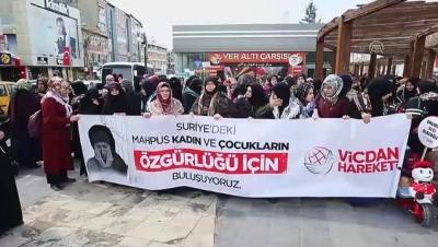 Suriye'deki tutuklu kadın ve çocuklar için destek çağrısı - UŞAK/ARDAHAN/VAN