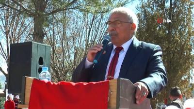Uçhisar'da meydan projesinin temel atma töreni yapıldı