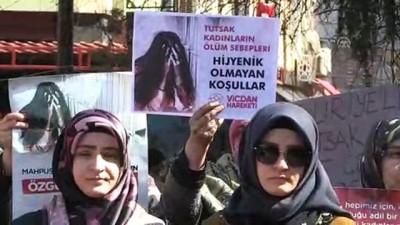 Vicdan Hareketinden 'Suriye'deki tutuklu kadın ve çocuklara özgürlük' çağrısı - YALOVA