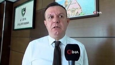 Denizlispor Başkanı Ali Çetin: 'Bu şehir artık Süper Ligi özledi'