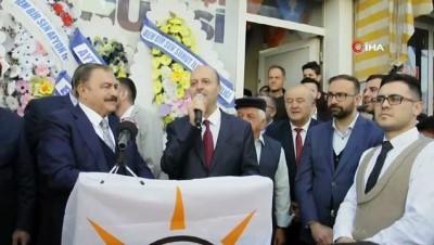 Eski Bakan Eroğlu memleketi Şuhut'ta