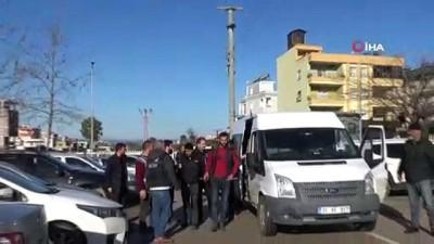 Hatay'da uyuşturucu operasyonu: 11 torbacı tutuklandı