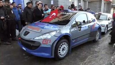 Türkiye'nin ilk kış yarışı 'Sarıkamış Rallisi'' başladı - KARS