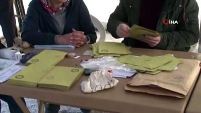 kiraathane -  - Afet bölgesinde kurulan sandıkta AK Parti birinci çıktı