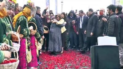 Başkan Fatma Şahin'e coşkulu karşılama