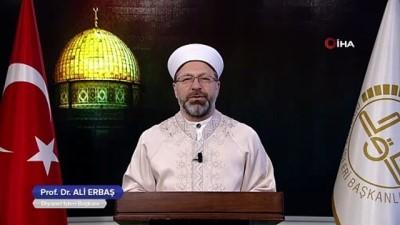 - Diyanet İşleri Başkanı Prof. Dr. Ali Erbaş, Miraç Kandili