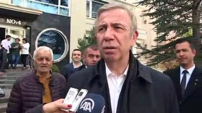 Mansur Yavaş: 'Ankara, İstanbul ve ülkemiz için hayırlı olsun' - ANKARA