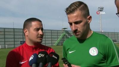 devre arasi - Dorio Melnjak: 'Önümüzdeki maçta bu yenilgiyi telafi edeceğiz'