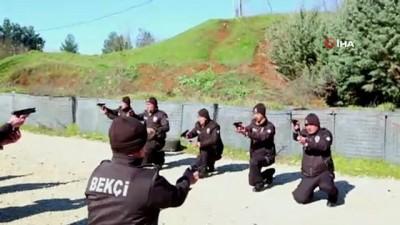 ozel harekat polisleri -  Siirt'te 75 bekçi göreve başladı