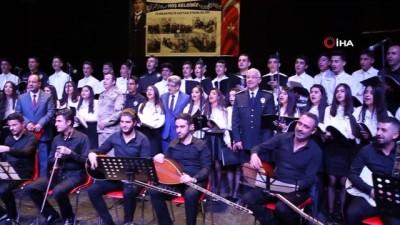 Türk Polis Teşkilatının 174. kuruluş yıldönümü düzenlenen etkinliklerle kutlandı