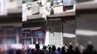 korkuluk -  Balkondan düşen çocuğu havada yakalayan kahramanlar konuştu