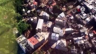 sivil savunma -  - Brezilya'da iki bina çöktü, en az 2 ölü