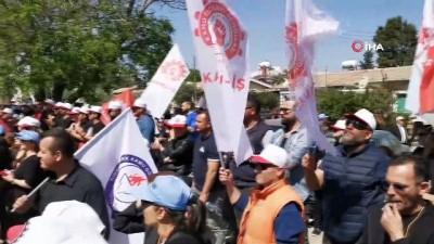 - KKTC'de Sendikalar Hükümetin Ekonomi Politikasını Protesto Etti