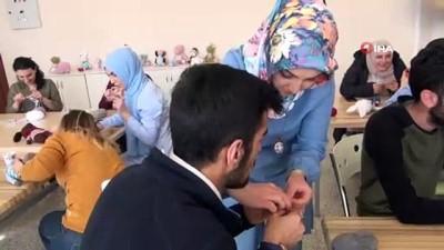 Bitlis'ten Türkiye'ye örnek olacak davranış...Bitlis Eren Üniversitesi'nde lösemili çocuklar için atölye kuruldu