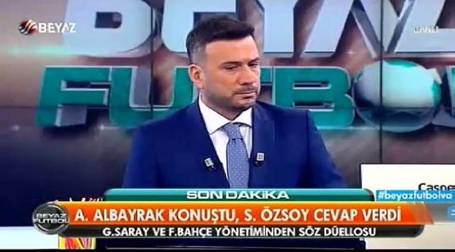 ahmet cakar - Ahmet Çakar: Hakem bilerek, isteyerek 2 puanı çalmıştır