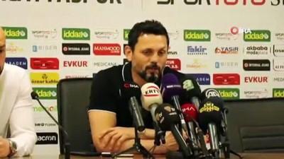 E. Yeni Malatyaspor - A. Alanyaspor maçının ardından