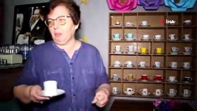 yardim kampanyasi -  Bu kafede anılı fincanlardan kahve içenler öğrencilere destek oluyor