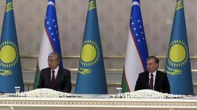 Kazakistan Cumhurbaşkanı Tokayev Özbekistan'da - TAŞKENT