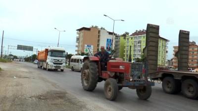 Suriye sınırına askeri sevkıyat - HATAY