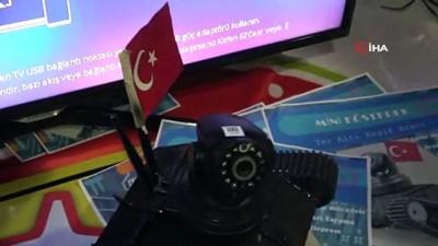 Terörle mücadelede kullanılması için 'Mini Köstebek'i üretti